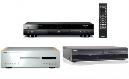 CD-SACD-DVD-Blu ray players- radio receivers-Network Players