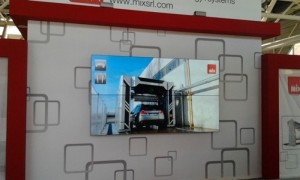 Bensotech videowall frontal view
