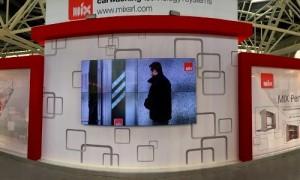 Bologna Fair monitor videowall 2015