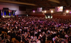 Audio video lighting for business convention at Novara