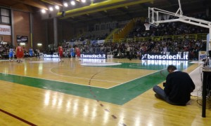 Servizio Video LED bordocampo Basket serie A1 e A2 Casale M.