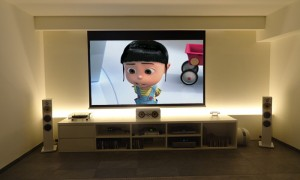 Home cinema made in Milano