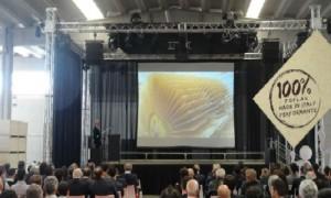 Audio video luci palco per Presentazione aziendale 2013
