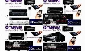 Yamaha Aventage model RXA660,860,1060,2060,3060