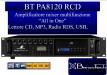 BT PA 8120RCD