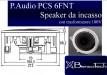 P.Audio PCS BT6FNT