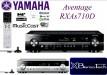 Yamaha RX AS710D